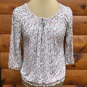 Joie Rayon Floral Top